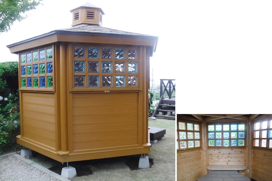 (北九州市若松区) 個人住宅・趣味の部屋(ガーデンハウス) (平成31年4月設置)