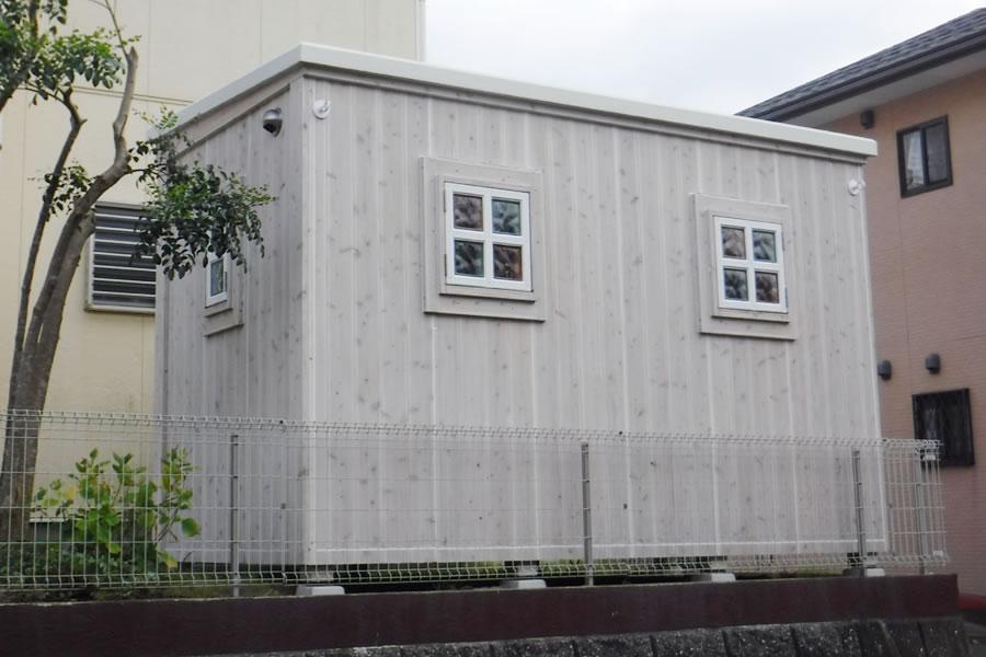 (福岡県遠賀郡) 住宅敷地内の設計事務所 (令和1年9月設置)