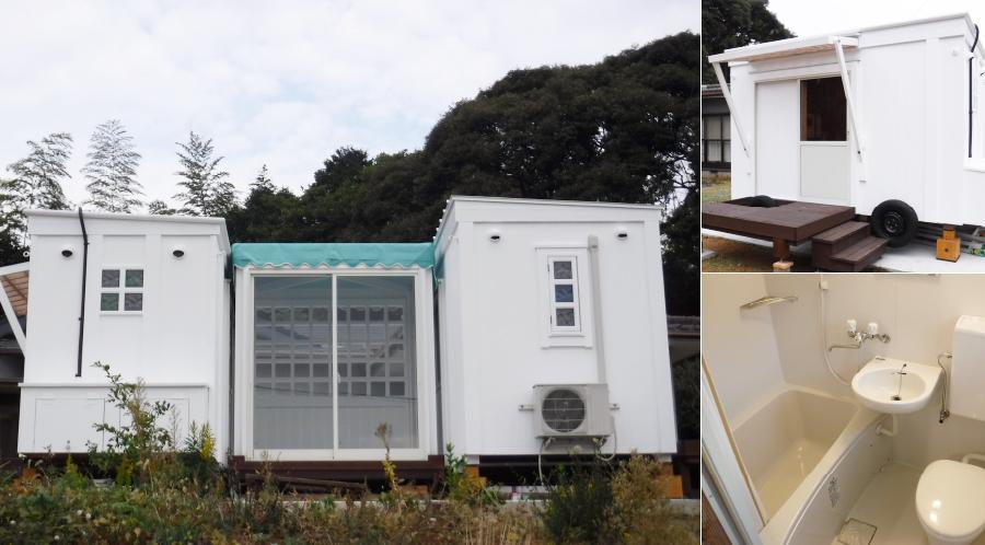(福岡県北九州市) 農作業用 移動式木造ユニットハウス (令和2年11月設置)
