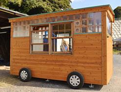 移動式木造ユニットハウス