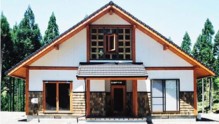 ポストアンドビーム工法木造住宅