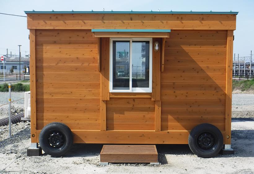 移動式木造ユニットハウス最新モデル2017-画像A