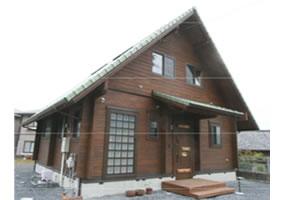 平成26年4月完成 北九州市 U様邸(角ログ)