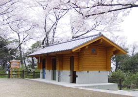 福岡県遠賀郡水巻町 多賀山公園 トイレ(Dログ)